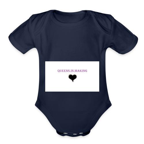Queens.in.making - Organic Short Sleeve Baby Bodysuit