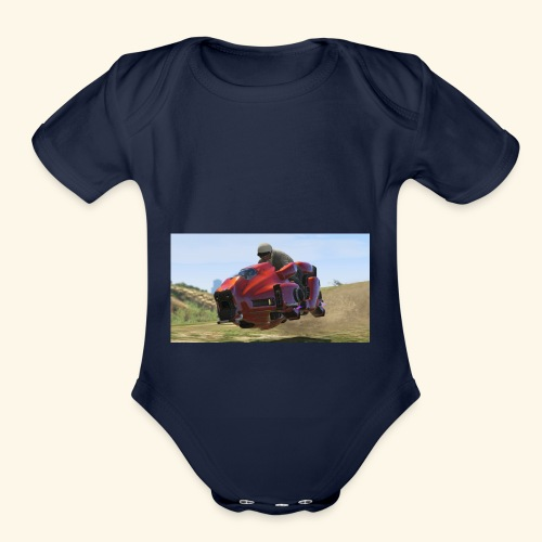 Cruiser - Organic Short Sleeve Baby Bodysuit