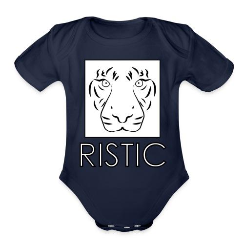 Ristic - Organic Short Sleeve Baby Bodysuit