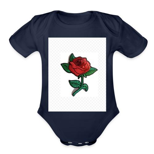 IMG 1324 - Organic Short Sleeve Baby Bodysuit