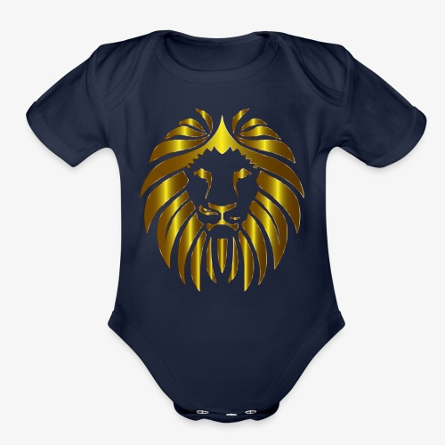 Lion United - Organic Short Sleeve Baby Bodysuit