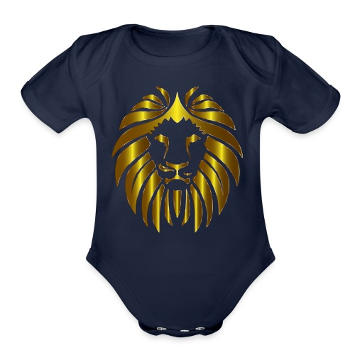 Lion United - Organic Short Sleeve Baby Bodysuit