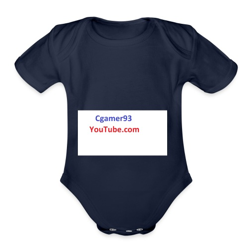 Cgamer93 long sleeve shirt man - Organic Short Sleeve Baby Bodysuit