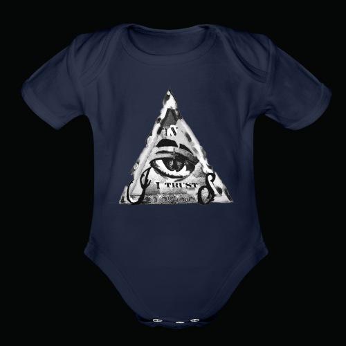 In I i Trust - Organic Short Sleeve Baby Bodysuit