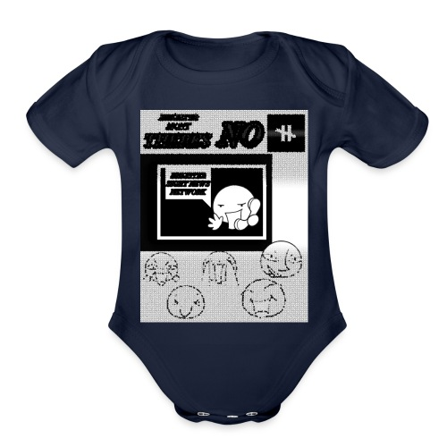 BRIGHTER SIGHT NEWS NETWORK - Organic Short Sleeve Baby Bodysuit