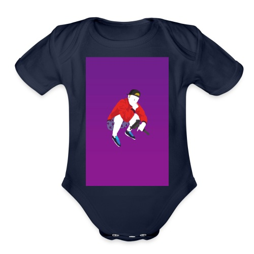 KILLAH TVETH - THEME - Organic Short Sleeve Baby Bodysuit