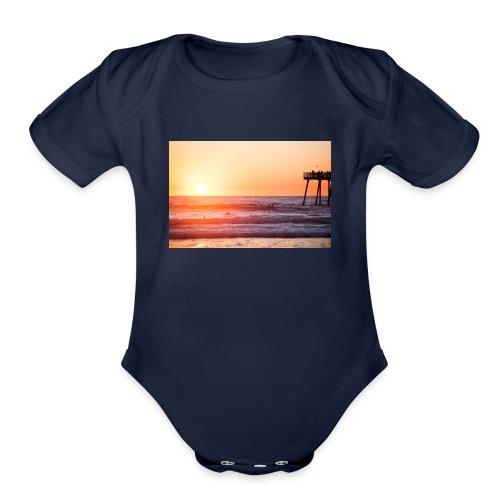 Summer - Organic Short Sleeve Baby Bodysuit