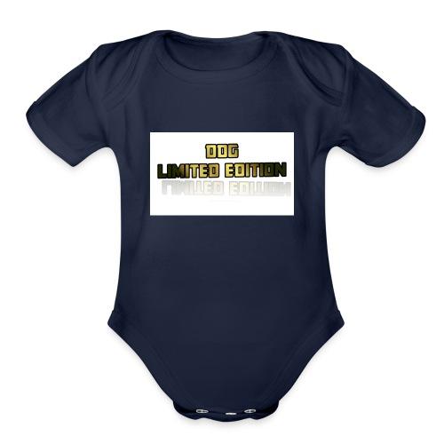Limited Edition Shirt - Organic Short Sleeve Baby Bodysuit