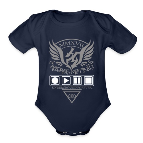 Higher Motives Underground Forever 2 - Organic Short Sleeve Baby Bodysuit