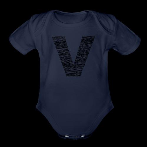 Varsity Beach - Organic Short Sleeve Baby Bodysuit