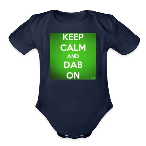 mccoy boys merch - Organic Short Sleeve Baby Bodysuit