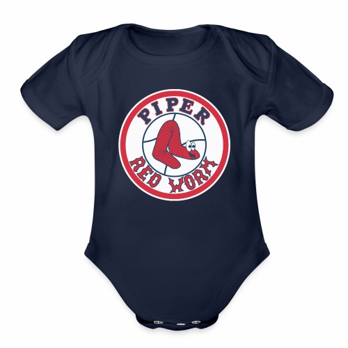 piper - Organic Short Sleeve Baby Bodysuit