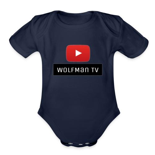 The Crew - Organic Short Sleeve Baby Bodysuit