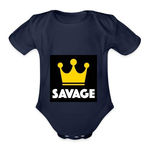 f3107e4e 9dde 42f7 9a36 7455dd2598f8 - Organic Short Sleeve Baby Bodysuit