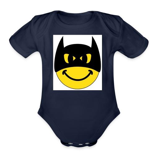 KK - Organic Short Sleeve Baby Bodysuit