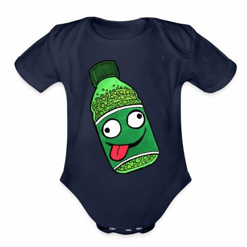 Crazy Soda - Organic Short Sleeve Baby Bodysuit