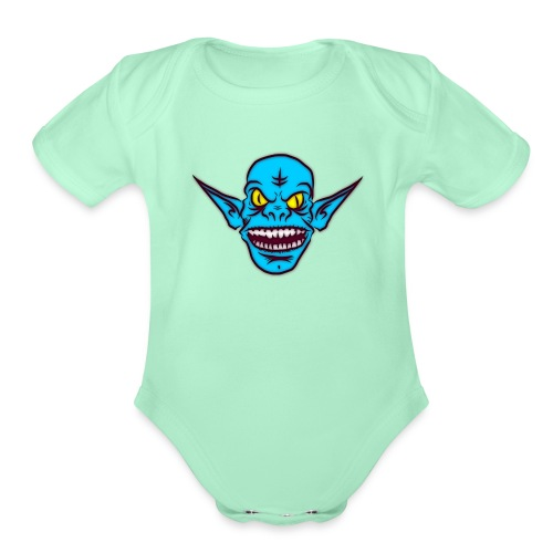 Troll - Organic Short Sleeve Baby Bodysuit