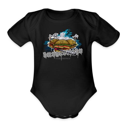 militia - Organic Short Sleeve Baby Bodysuit