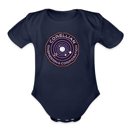 Corellian Engineering - Organic Short Sleeve Baby Bodysuit