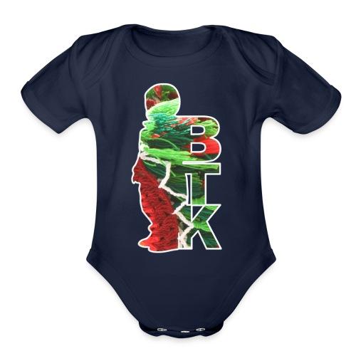 BTK cloth - Organic Short Sleeve Baby Bodysuit