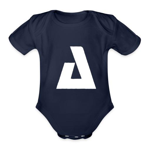 BIG A - Organic Short Sleeve Baby Bodysuit