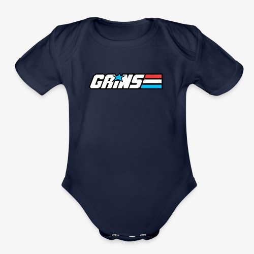Gains Joe - Organic Short Sleeve Baby Bodysuit