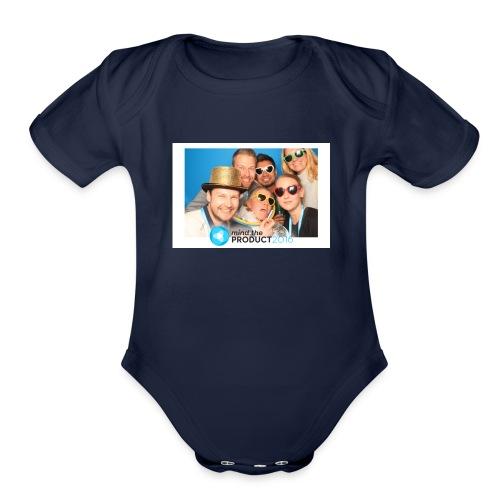 photo1 - Organic Short Sleeve Baby Bodysuit