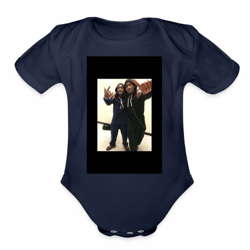 $Free The Twins$ - Organic Short Sleeve Baby Bodysuit