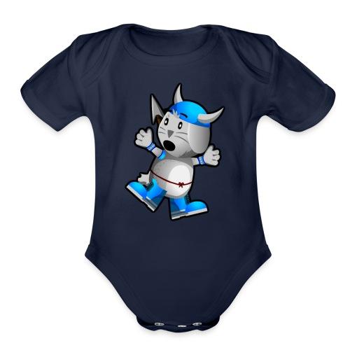 Steve! - Organic Short Sleeve Baby Bodysuit