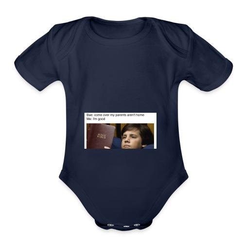 5b97e26e4ac2d049b9e8a81dd5f33651 - Organic Short Sleeve Baby Bodysuit