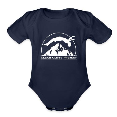 Clean Cliffs Project - Organic Short Sleeve Baby Bodysuit