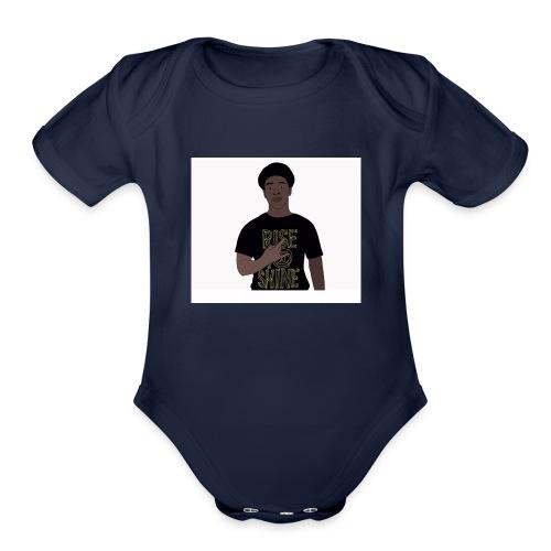 IMG 0894 - Organic Short Sleeve Baby Bodysuit