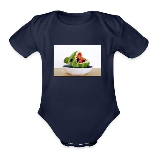 Lego 101 - Organic Short Sleeve Baby Bodysuit