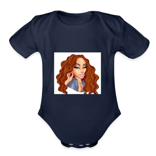 ITSJAMIEBABY - Organic Short Sleeve Baby Bodysuit