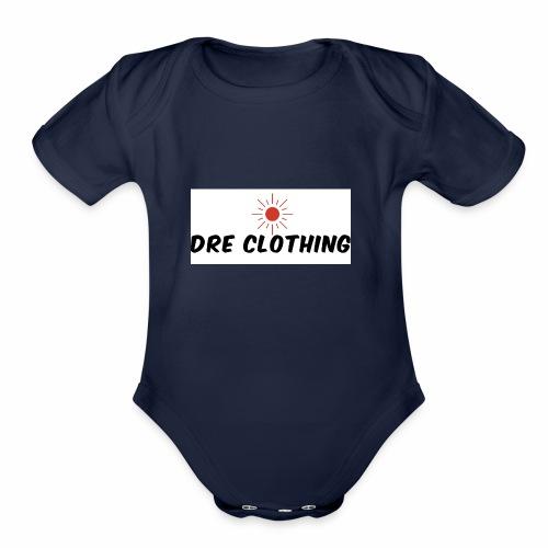 Dre - Organic Short Sleeve Baby Bodysuit
