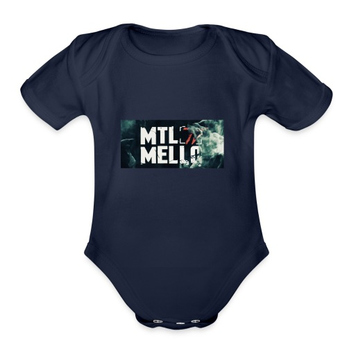Dimello - Organic Short Sleeve Baby Bodysuit