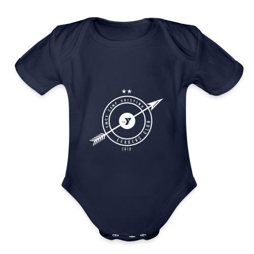 Club Crest - Organic Short Sleeve Baby Bodysuit