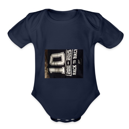 Johnnybeast - Organic Short Sleeve Baby Bodysuit