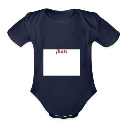JBOTS Shirt design3 - Organic Short Sleeve Baby Bodysuit