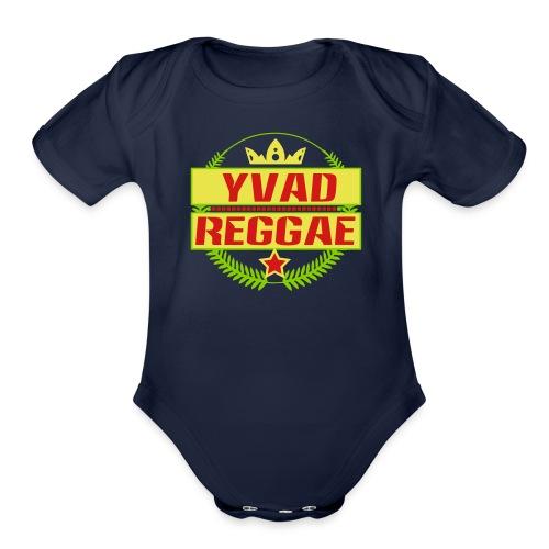 Yvad Reggae - Organic Short Sleeve Baby Bodysuit