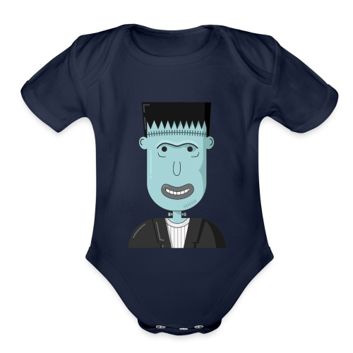 Frankenstein - Organic Short Sleeve Baby Bodysuit