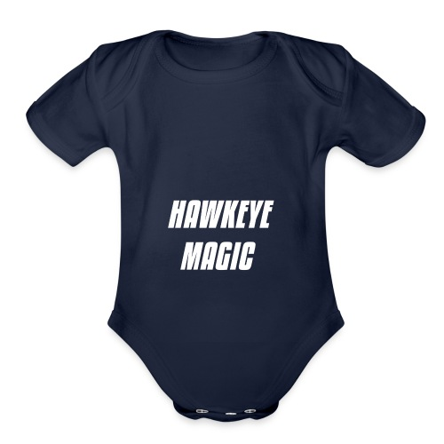 HAWKEYE MAGIC T SHIRT - Organic Short Sleeve Baby Bodysuit
