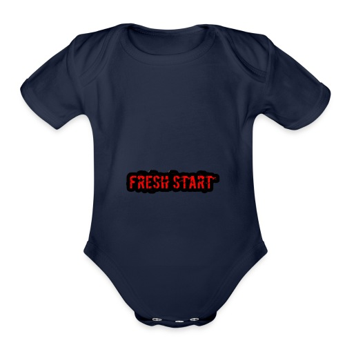Fresh Start T - Organic Short Sleeve Baby Bodysuit