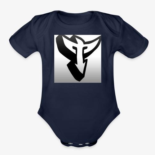 T from Team SPN - Organic Short Sleeve Baby Bodysuit