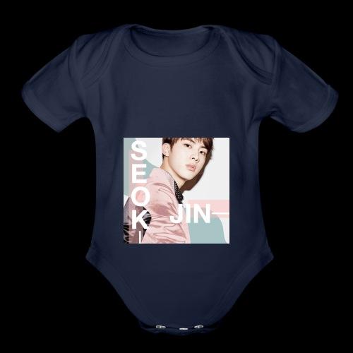 Jin - Organic Short Sleeve Baby Bodysuit