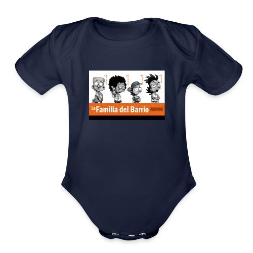 La Familia del Barrio (4) - Organic Short Sleeve Baby Bodysuit