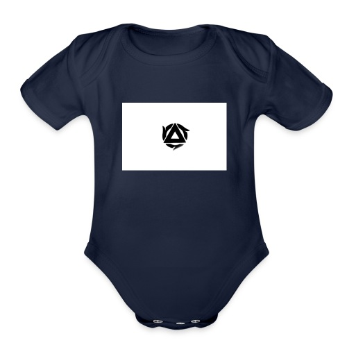 loghi2z 05 - Organic Short Sleeve Baby Bodysuit