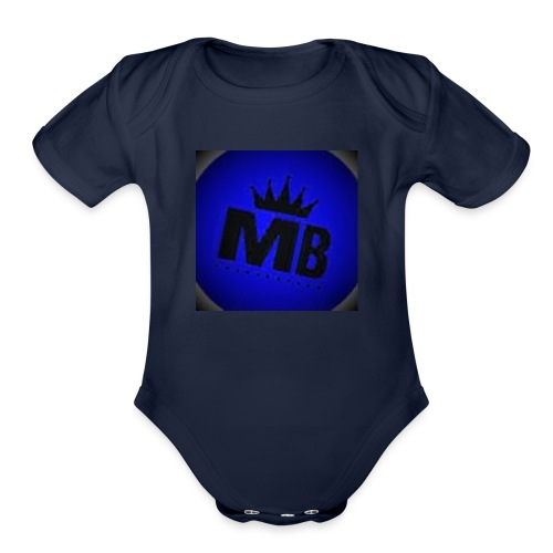 MELLOWBLUE FILMS - Organic Short Sleeve Baby Bodysuit