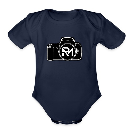 Raven Media - Organic Short Sleeve Baby Bodysuit