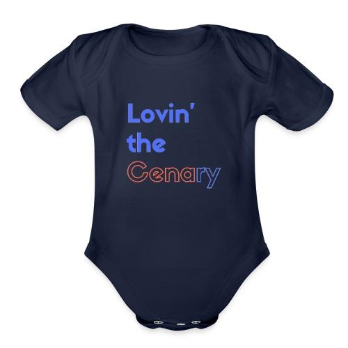 Lovin' the CENAry - Organic Short Sleeve Baby Bodysuit